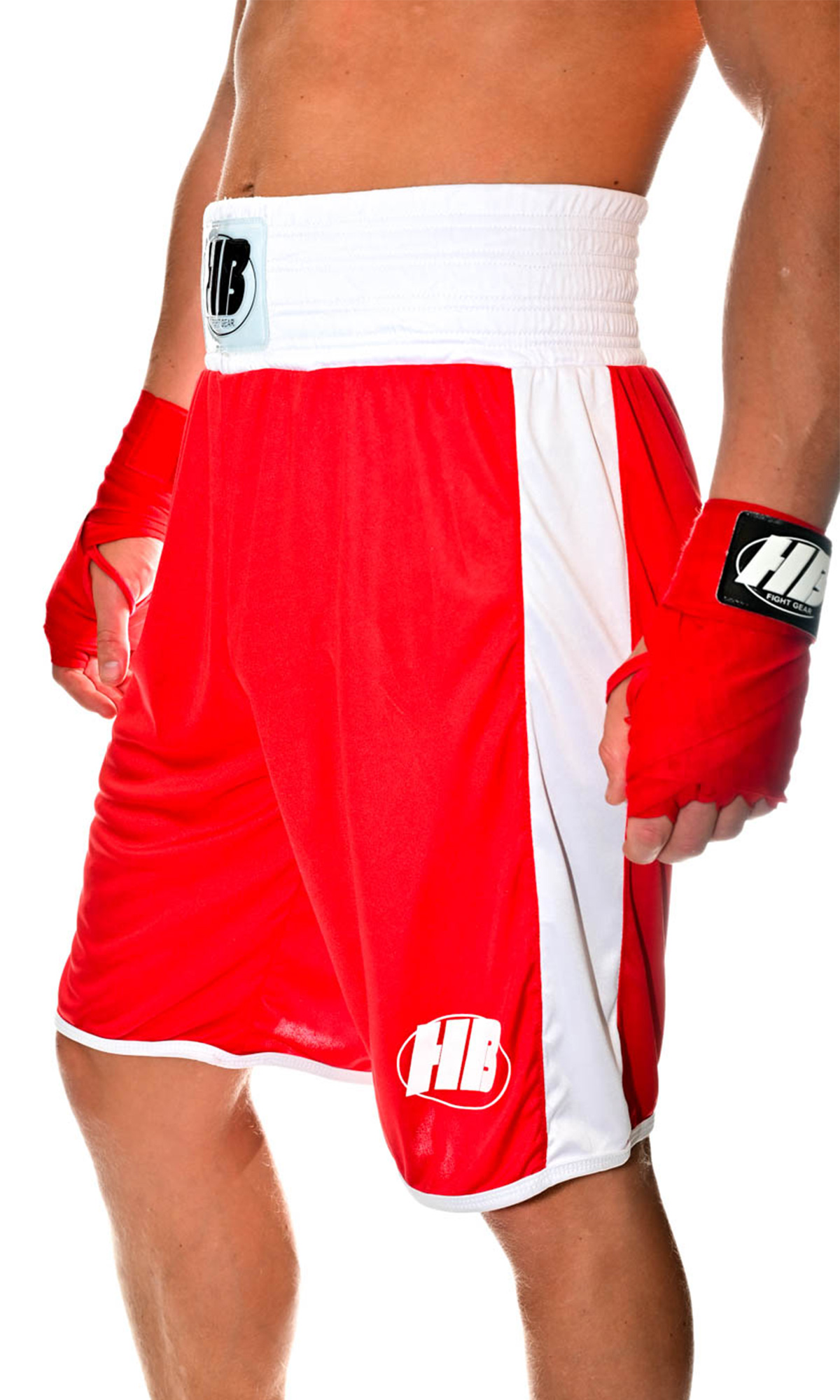side-boxing-red-shorts